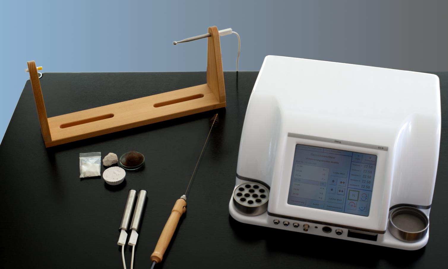 Rayonex Bioresonanz Materialtest